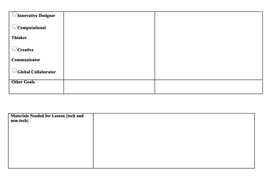 lesson planning template triple e framework